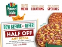 Sign Up For EClub To Receive Great Deals At Round Table Pizza