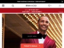 FREE Shipping + FREE Returns On $120+ Orders At RW&CO