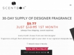 ScentBox Coupons August 2018