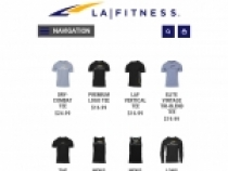 Up To 50% OFF On Clearance Items at LA Fitness