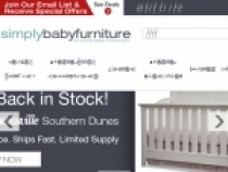 Up To 20% OFF Sale Items + FREE Shipping At Simply Baby Furniture
