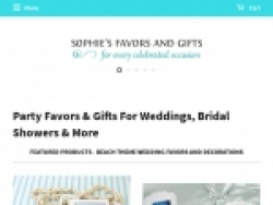 Sophie's Favors Coupon Codes August 2018