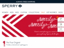 Up To 50% OFF On Sale Items At Sperry
