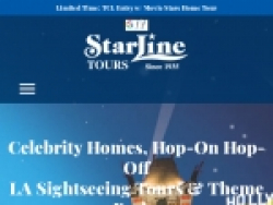 Starline Tours Coupon August 2018