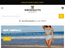 Swimsuits Direct Coupon Code August 2018