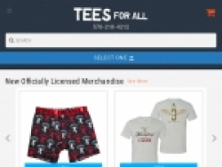 Tees For All Coupon Codes August 2018