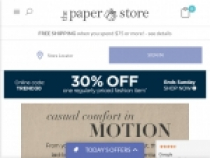 Up To 50% OFF Sale Items + FREE Shipping At The Paper Store