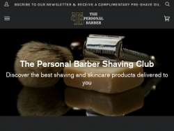 The Personal Barber Coupons August 2018
