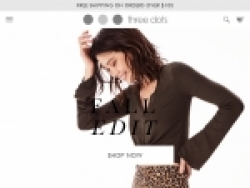 Three Dots Coupon Codes August 2018