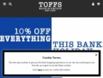 Toffs.com 10% OFF Youth & Student Discount
