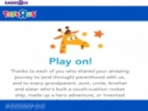 Earn $5 In Rewards For Every 125 Points at Toys R Us