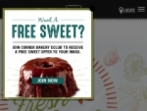 FREE Sweet For Joining eCafe At Corner Bakery Cafe