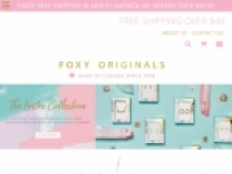 FREE Standard Shipping On All Orders Over $49 At Foxy Originals