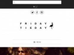 Friday Tieday Discount Code August 2018
