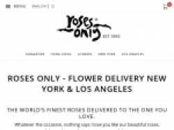 RosesOnly.com Coupons August 2018
