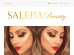 Saleha Beauty Coupon Codes August 2018