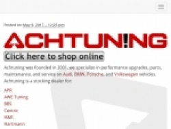 Achtuning Discount Codes August 2018