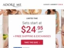 FREE 6th Set W/ Rewards Program At Adore Me
