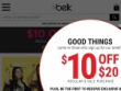 Up To 20% OFF With New Belk Rewards Account