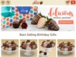 Strawberries & Gourmet Gifts From $19.99 At Sharis Berries