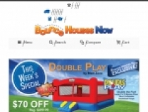 Up To 30% OFF Sale + FREE Shipping At Bounce House Now