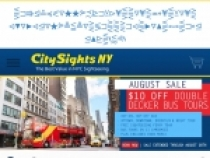 Up To 10% OFF Your Bus Tours When Sign Up At Citysights NY