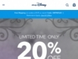$5.95 Flat-Rate Shipping on Orders Below $25 at Disney Store