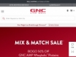 10% OFF Coupon With Email Sign-Up At GNC
