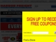 Sign Up For FREE Coupons & Exclusive Offers From Harbor Freight