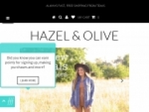 Up To 20% OFF + FREE Shipping At Hazel And Olive