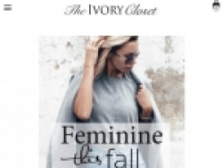 The Ivory Closet Coupon Codes August 2018