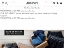 Up To 75% OFF On Sale Items + FREE Shipping at Jockey