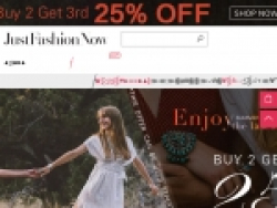 JustFashionNow.com Coupons August 2018