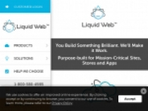 Only $150/Month For Cloud Site At Liquid Web