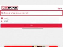 Live Nation Special Offers W/ Newsletter SignUp