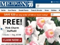 $20 OFF On $40+ Orders By Signing Up At Michigan Bulb