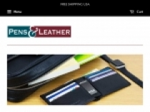 Up To 40% OFF Specials + FREE Shipping At Pens And Leather