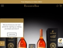 Up To 25% OFF Select Wine + FREE Shipping At Reserve Bar