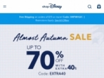 Up To 60% OFF Sale Items at Shop Disney
