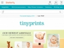 Shutterfly 40% OFF Birth Announcements