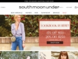 South Moon Under Promo Codes