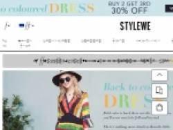 StyleWe Coupons August 2018