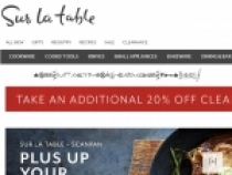 Up To 75% OFF Summer Clearance  At Sur La Table