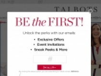 Extra 10% OFF W/ Your Talbots Credit Card At Talbots