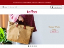 Toffee 15% OFF 1st Order W/ Newsletter SignUp