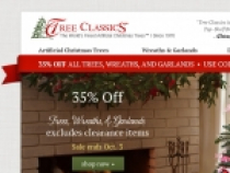 Up To 60% OFF Clearance Items At Tree Classics