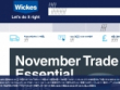 Up To 75% OFF Clearance Items + FREE Delivery At Wickes