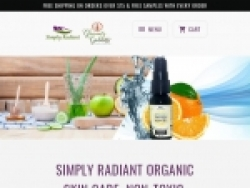 Simply Radiant Organic Skincare Coupons August 2018