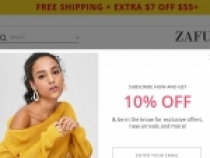 FREE Standard U.S Shipping On Orders Of $30+ At Zaful