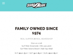 Surf Ride Promo Codes August 2018